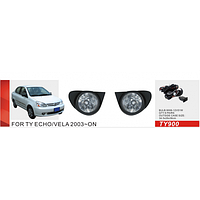 Фары дополнительные модель Toyota ECHO 2003-2004/TY-900/эл.проводка