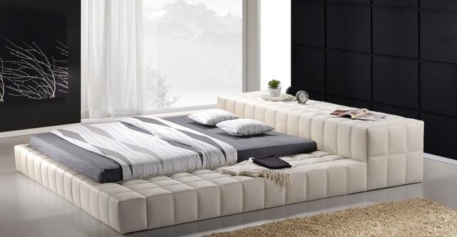 Кровать двухспальная Люкс Калифорния (California) белый.