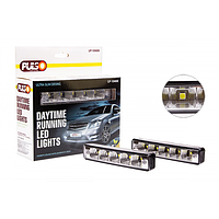 Дополнительные фары дневного света PULSO LP-10400 DRL 5SMD-5050, 3W, 12V, пластик 151х24мм
