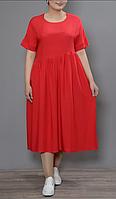 Платье А-силуэта на пышных женщин, с 48-98 размеры, фото 1