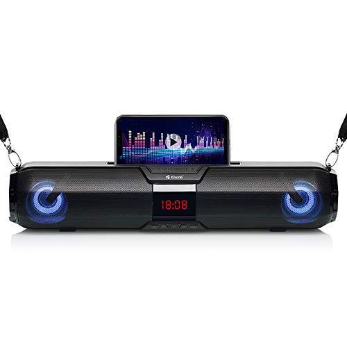 Портативна акустична система Kisonli LED-900