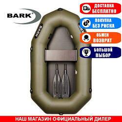 Лодка Bark B-190. Гребная, 1,90м, 1 место, 850/950ПВХ,