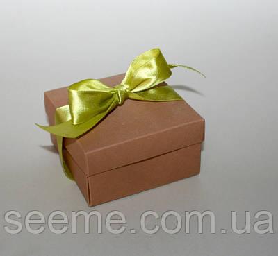 Коробка подарункова 90х90х50 мм