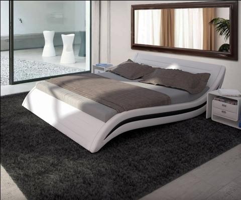 Кровать двухспальная Волна Sakura.