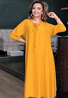 Женское удлиненное платье А-силуэта, с 48-98 размеры, фото 1