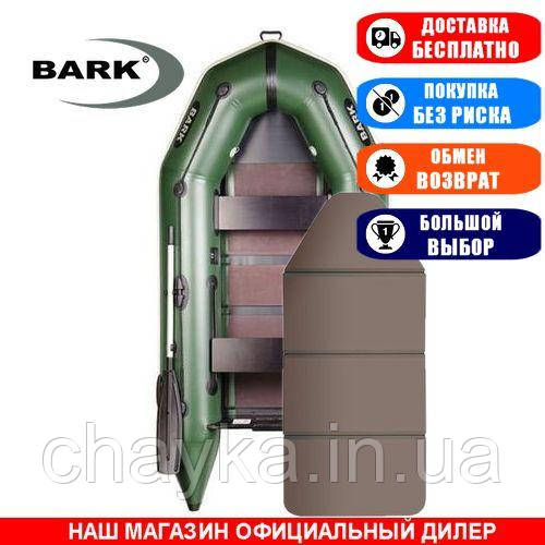 Лодка Bark BT-270K. Моторная, 2,70м, 2 места, 1100/1100ПВХ, сдвиж./стац. с-нья, сплошное днище. Надувная лодка ПВХ Барк БТ-270К;