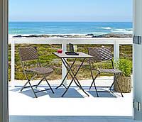 Комплект плетеной мебели из ротанга  VESTLI (стол и 2 стула)