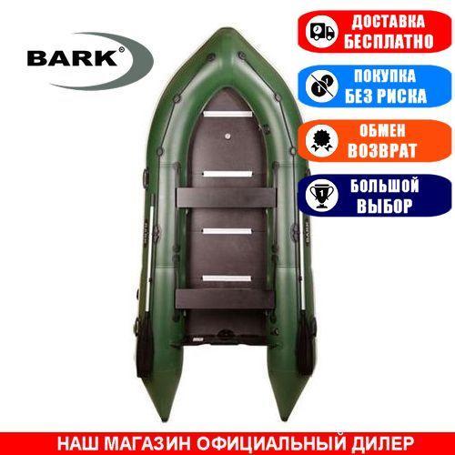 Лодка Bark BN-360S. Моторная, 3,60м, 5 мест, 1100/1100ПВХ, сдвиж. с-нья, жесткое днище, киль. Надувная лодка ПВХ Барк БН-360С;