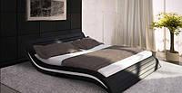 Кровать двухспальная Волна.