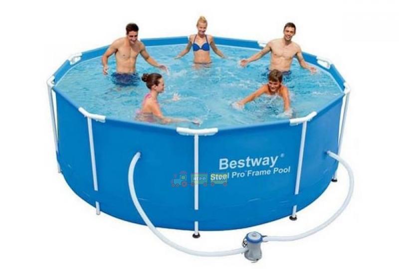 Каркасный бассейн 305х100 см, Bestway 14415,