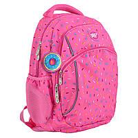 """Підлітковий Рюкзак шкільний для дівчинки Т-45 """"Cake"""", YES, фото 1"""
