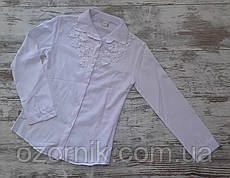 Оптом. Блузка белая для девочек 10-13 лет