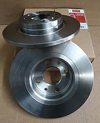 Комплект гальмівних не вентильованих дисків Renault Sandero (Motrio-Renault оригінал)