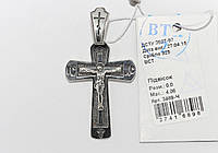 Серебряный крестик 3489-Ч