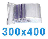 Пакеты с замком zip-lock 300*400 мм