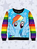 Свитшот Rainbow Dash