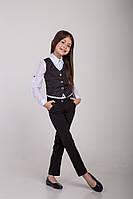 Школьные брюки для девочек   , фото 1