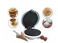 Вафельница-тостер круглая Livstar LSU-1218 для конусного мороженого