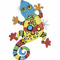 Фольга большая Anagram радужный гекон линк