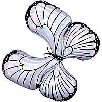 Фольга велика Anagram метелик райдужна біла