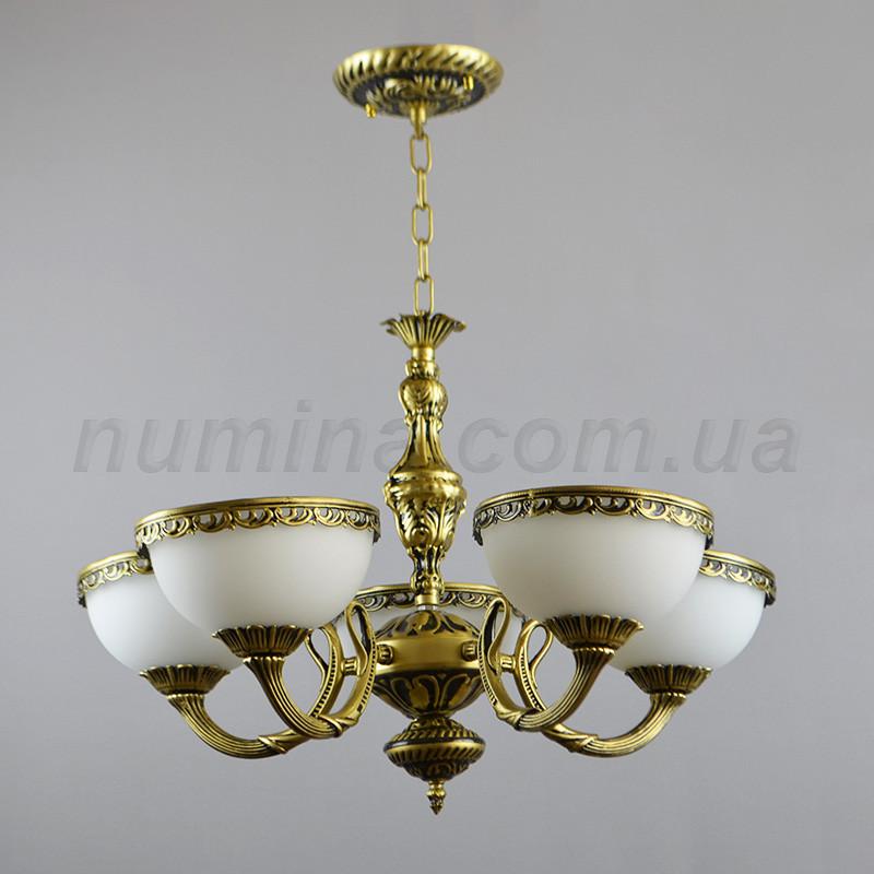 Люстра подвесная на пять ламп DD-9044/5
