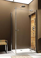 Двери распашные правосторонние для монтажа со стенкой Aquaform Verra Line 90 см 103-09335