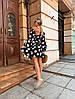 Женское платье в крупный горошек р SМLXL, фото 2