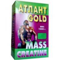 Атлант MASS CREATINE, 3000 ГР. Гейнер