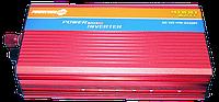 Преобразователь авто инвертор с Функцией плавного пуска 12V-220V 4000 Вт с USB, фото 1