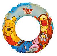 "Надувной круг ""Winnie the Pooh Swiming"" Intex, 51см."