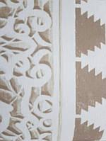 Обои флизелиновые  Khroma DGAID102 AIDA классические фигуры полосы коричневые