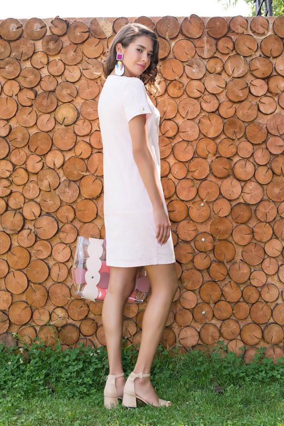 Летнее платье короткое льняное, фото 2