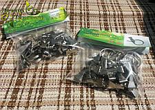 Крючки для штор и карнизов (металлические крабики) 25шт/уп, фото 3
