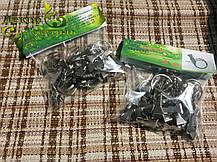 Крючки для штор и карнизов (металлические крабики) 25шт/уп, фото 2