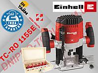 Фрезер ручной электрический Einhell TC-RO 1155 E+ Набор фрез