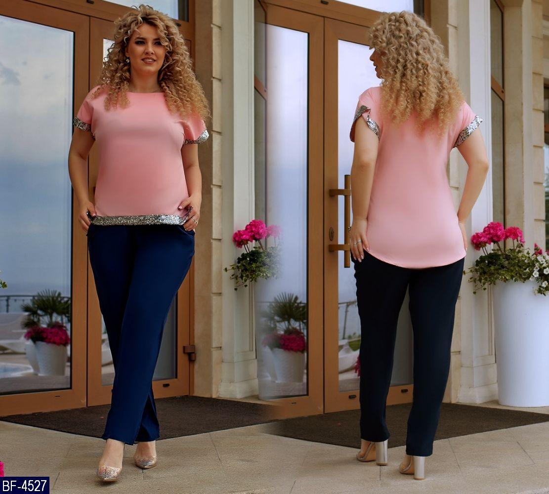 Женский брючный костюм    Размеры 50, 52, 54, 56.