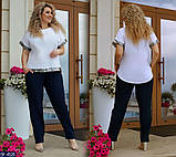 Женский брючный костюм    Размеры 50, 52, 54, 56., фото 3