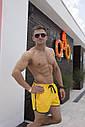 Плавки мужские желтые бренд ТУР модель Кайдзю размер S, M, L, XL,XXL, XXXL, фото 3
