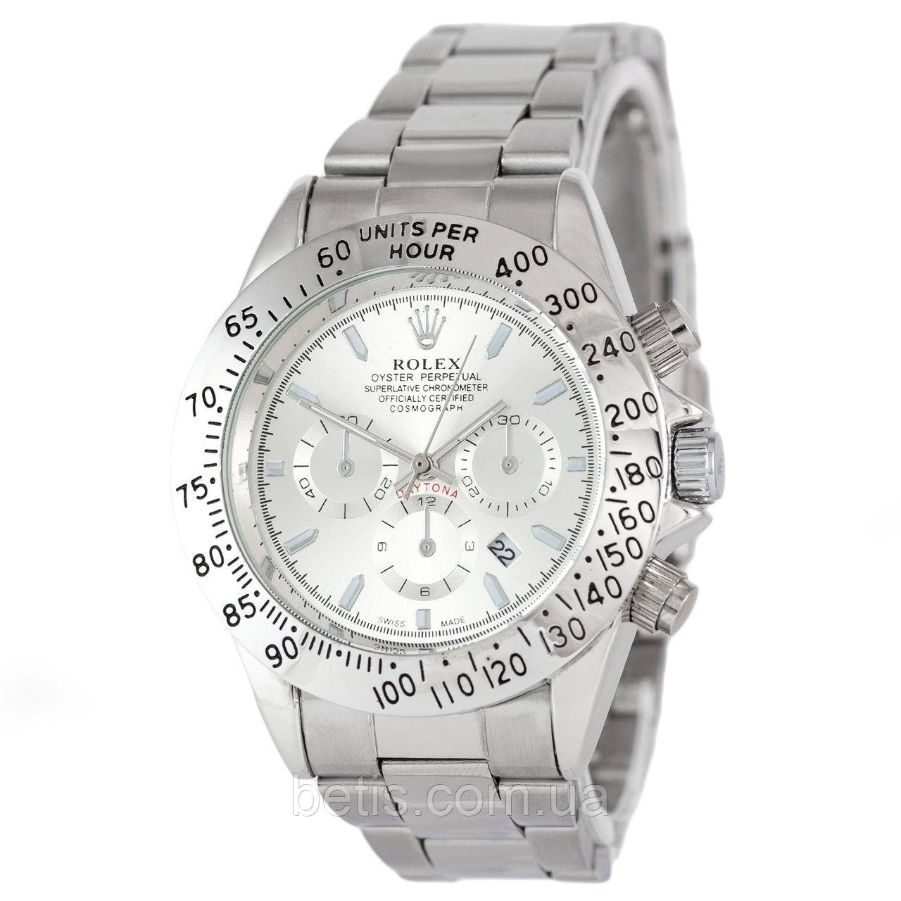 Rolex Daytona Quartz Date All Silver