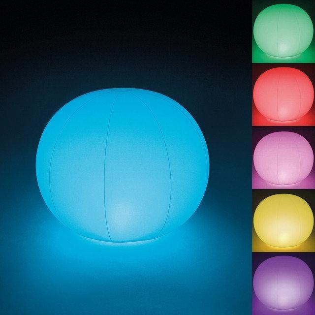 Светильник Плавающий шар Intex 68695