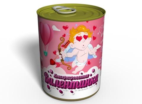 Консервированная Валентинка - Подарок Ко Дню Влюбленных - На 14 февраля подарок