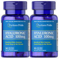 Puritans Pride Hyaluronic Acid 100 mg, 30 caps