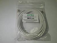 Кабель Патч-корд Perfeo P6005 UTP CAT5e RJ-45, 5м, фото 1