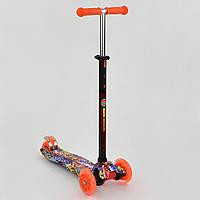Самокат BEST SCOOTER А24645/779-1389 оранжевый (MAXI), фото 1