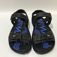 43,44 р. Чоловічі шкіряні сандалі в стилі Nike
