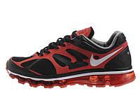 Мужские кроссовки Nike Air Max 2012 Black Red размер 42 (Ua_Drop_111447-42)