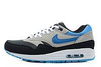 Мужские кроссовки Nike Air Max 87 Grey Blue Black White размер 42 (Ua_Drop_108482-42)