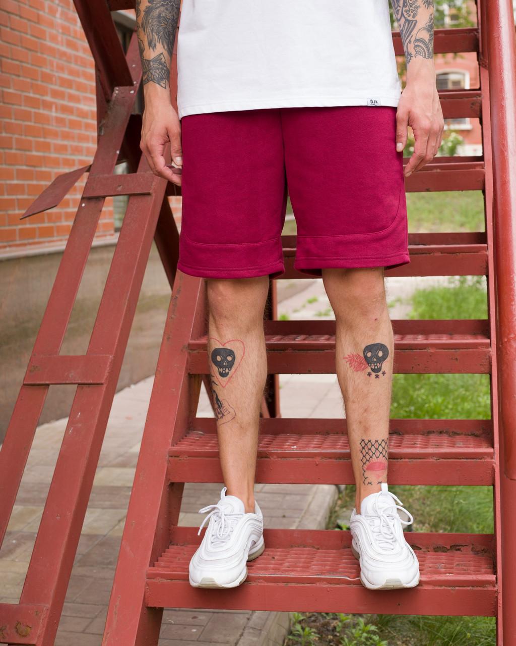 Шорты мужские бордовые бренд ТУР модель Сэм (Sam) размер  L