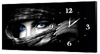 Настенные часы Декор Карпаты 53х29 Черный (53х29-ch28)