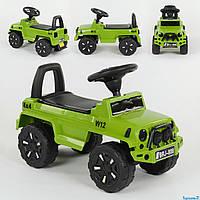 Машина-Толокар 808 G-8001 JOY (4) цвет ЗЕЛЁНЫЙ, РУССКОЕ ОЗВУЧИВАНИЕ, СВЕТОВЫЕ ЭФФЕКТЫ, багажник, в коробке